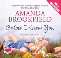 Before I Knew You (CD-Audio)
