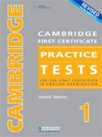 Revised Cambridge First Certificate Practice Tests 1: For the First Certificate in English Examination (CD-Audio)