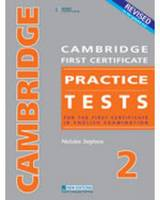 Revised Cambridge First Certificate Practice Tests 2 (CD-Audio)