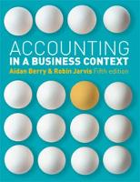 Accounting in a Business Context (Paperback)