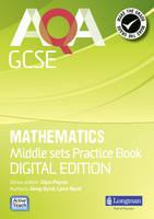 AQA GCSE Mathematics for Middle Sets Practice Book: Digital Edition - AQA GCSE Maths 2010 (CD-ROM)