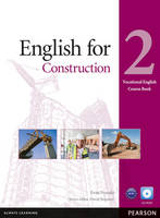 English for Construction Level 2 Coursebook for Pack - Vocational English (Paperback)
