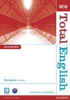 New Total English Advanced Workbook with Key and Audio CD Pack - Total English
