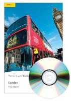 Level 2: London Book and MP3 Pack - Pearson English Graded Readers