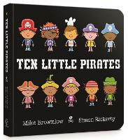 Ten Little Pirates Board Book - Ten Little (Board book)