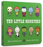 Ten Little Monsters Board Book - Ten Little (Board book)