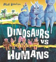 Dinosaurs vs Humans (Hardback)