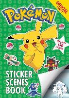 The Official Pokemon Sticker Scenes Book - Pokemon (Paperback)