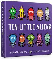 Ten Little Aliens Board Book - Ten Little (Board book)