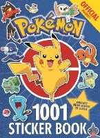 The Official Pokemon 1001 Sticker Book - Pokemon (Paperback)