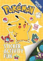 The Official Pokemon Sticker Activity Fun - Pokemon (Paperback)