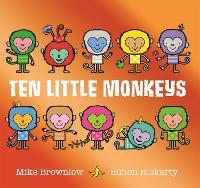 Ten Little Monkeys - Ten Little (Paperback)