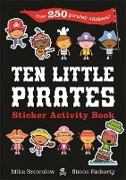 Ten Little Pirates Sticker Activity Book (Paperback)