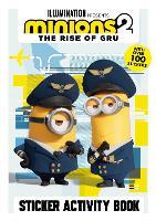 Minions: The Rise of Gru Sticker Activity - Minions 2 (Paperback)