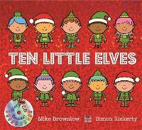 Ten Little Elves: Book and CD - Ten Little