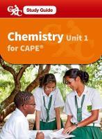 Chemistry CAPE Unit 1 A CXC Study Guide
