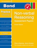 Bond Assessment Papers Non-Verbal Reasoning 8-9 Yrs (Paperback)