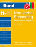 Bond Assessment Papers Non-Verbal Reasoning 9-10 Yrs Book 1 (Paperback)