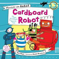 Cardboard Robot - Monkey and Robot (Paperback)