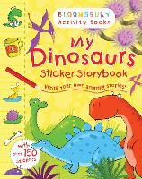 My Dinosaurs Sticker Storybook (Paperback)