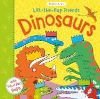 Lift-the-flap Friends Dinosaurs (Board book)