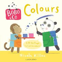 Bobo & Co. Colours (Board book)