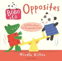 Bobo & Co. Opposites (Board book)