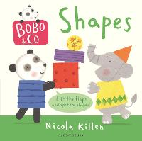 Bobo & Co. Shapes (Board book)