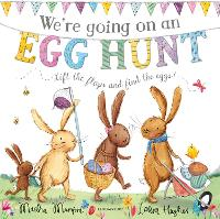 We're Going on an Egg Hunt: Board Book (Board book)