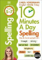 10 Minutes A Day Spelling Ages 5-7 Key Stage 1 - Made Easy Workbooks (Paperback)