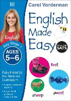 English Made Easy Ages 5-6 Key Stage 1 - Made Easy Workbooks (Paperback)