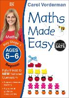 Maths Made Easy Ages 5-6 Key Stage 1 Beginner - Made Easy Workbooks (Paperback)