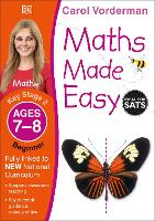 Maths Made Easy Ages 7-8 Key Stage 2 Beginner - Made Easy Workbooks (Paperback)
