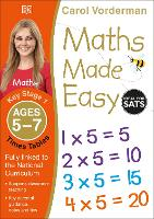 Maths Made Easy Times Tables Ages 5-7 Key Stage 1 - Made Easy Workbooks (Paperback)