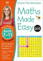 Maths Made Easy Times Tables Ages 7-11 Key Stage 2 - Made Easy Workbooks (Paperback)