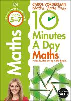 10 Minutes a Day Maths Ages 5-7 Key Stage 1 - Made Easy Workbooks (Paperback)