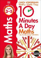 10 Minutes a Day Maths Ages 3-5 Key Stage 0 - Made Easy Workbooks (Paperback)