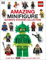 LEGO (R) Amazing Minifigure Ultimate Sticker Collection - Ultimate Stickers (Paperback)