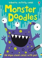 Monster Doodles - Doodle Cards