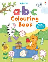 ABC Colouring Book with stickers - First Colouring Books with stickers (Paperback)