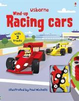 Wind-up Racing Cars - Wind-up Books (Board book)