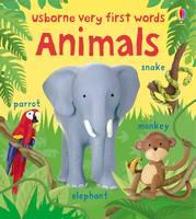 Animals - Usborne First Words Board Books (Board book)