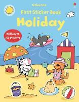 First Sticker Book Holiday - First Sticker Books series (Paperback)