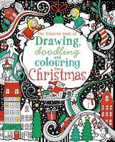 The Usborne Book of Drawing, Doodling & Colouring for Christma (Paperback)