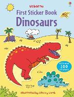 First Sticker Book Dinosaurs - First Sticker Books (Paperback)