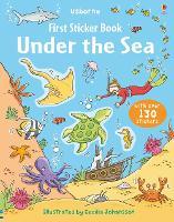 First Sticker Book Under the Sea - First Sticker Books series (Paperback)
