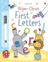 Wipe-clean First Letters - Wipe-Clean (Paperback)