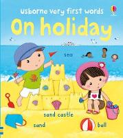 Usborne Very First Words on Holiday - Very First Words (Board book)