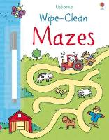 Wipe-Clean Mazes - Wipe-Clean (Paperback)