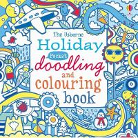 Holiday Pocket Doodling and Colouring book (Paperback)